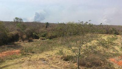 Incendios disminuyeron en Alto Chaco, pero siguen con varios focos