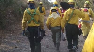 HOY / Incendio en el Chaco: suman 21.000 hectáreas afectadas y hay otro foco en cerro Chovoreca
