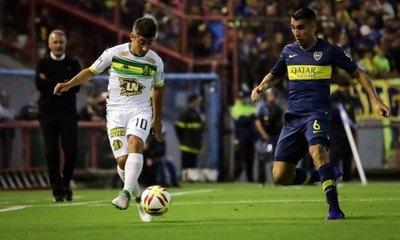 Junior Alonso, gran figura en el triunfo de Boca