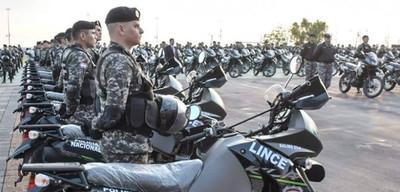 Entregan 200 motos a los Linces