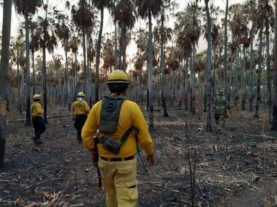 En Bahía Negra el fuego se encuentra controlado, asegura ministro