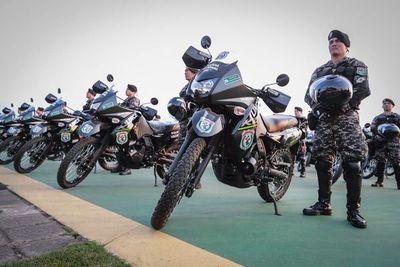 Entregan motos sin licitación y descontinuadas para reforzar Grupo Lince