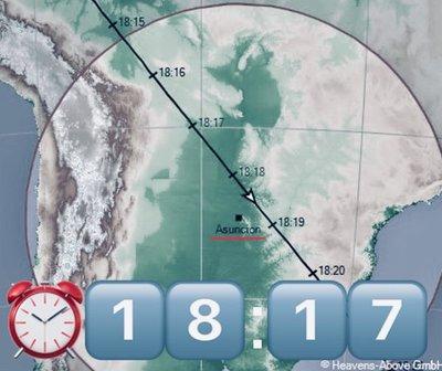 La Estación Espacial Internacional podrá ser vista desde Asunción
