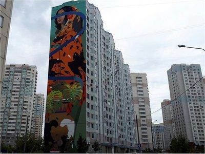 """Grafiteros """"despiertan"""" ciudad dormitorio en Moscú"""