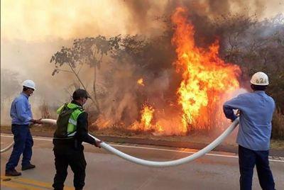 Frontera de fuego: Incendios en Bolivia se acercan al Paraguay