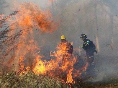 Incendios forestales en Bolivia se acercan al Paraguay