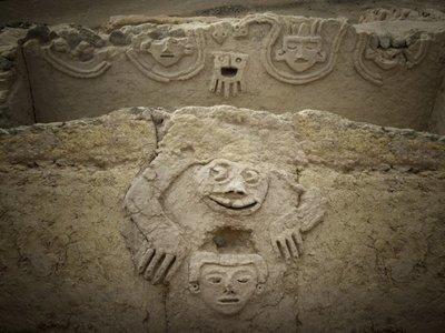 Hallan un sapo humano entre civilización más antigua de América