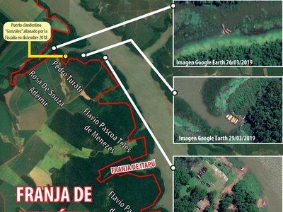 Contrabando en la franja de Itaipú sigue pese a operativos realizados