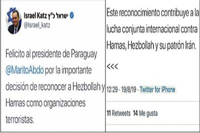 Destacan postura de Paraguay