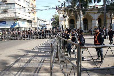 Poca respuesta ciudadana en apoyo al juicio político a Abdo