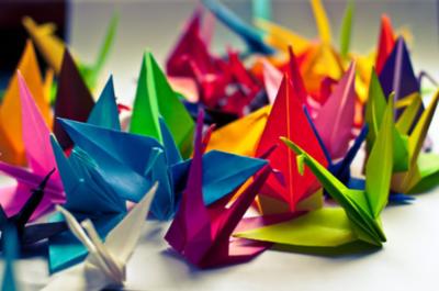 Clases de origami en la semana aniversario del CPJ