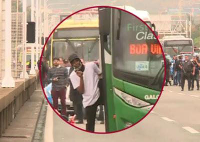 Río de Janeiro: Policía abatió al hombre que secuestró bus con rehenes