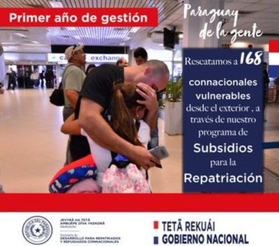 Repatriados resalta aumento de asistencia a compatriotas