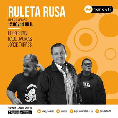 Ruleta Rusa con Hugo Rubin, Raúl Daumas y Jorge Torres