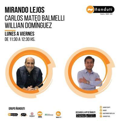 Mirando lejos con Carlos Mateo Balmelli y Willian Domínguez