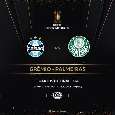Copa Libertadores: Duelo brasileño para inicio de los Cuartos de Final