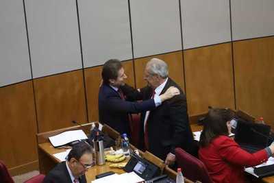 Confirman retorno de Castiglioni a la Cámara de Senadores