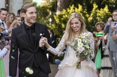 PewDiepie, el youtuber más famoso de internet, se casó con su novia