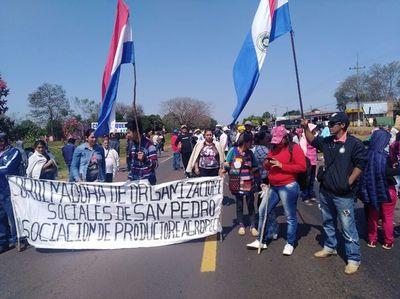 Campesinos de Liberación exigen compensación por pérdidas agrícolas