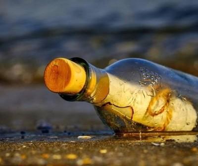 Encuentran en Alaska mensaje escrito en una botella hace 50 años