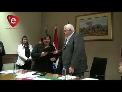 ERSSAN Y GOBERNACIÓN DE ITAPÚA FIRMAN CONVENIO PARA MEJORAR CALIDAD DEL AGUA