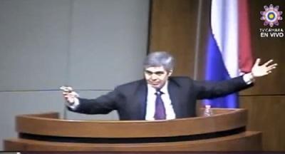 Pedro Ferreira desafía con detector de mentiras