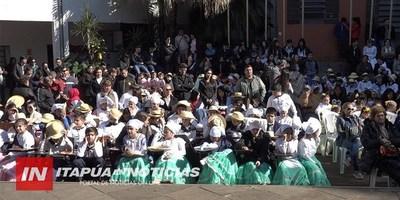 ACTO CONMEMORATIVO AL DÍA DEL FOLKLORE Y DEL IDIOMA GUARANÍ SE DESARROLLÓ EN EL CEUCE