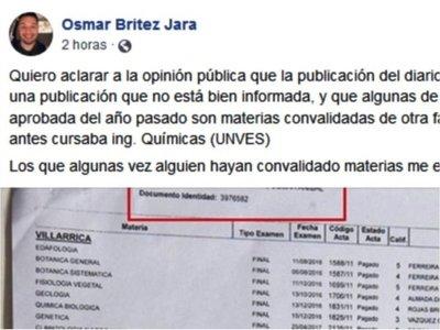 """Cones pide """"de urgencia"""" informes sobre meteórico curso de concejal"""