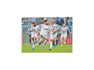 Palmeiras vence de visitante