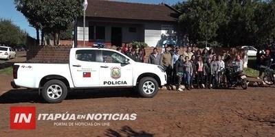 LLEGAN MÁS PATRULLERAS 0 KM PARA COMISARÍAS DE ENCARNACIÓN