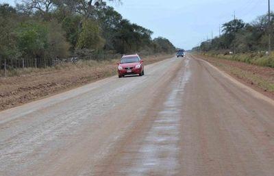 En el Chaco reiteran pedido de asfaltado de la Línea Norte