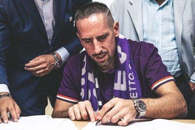 Ribéry inicia una nueva aventura en la Fiorentina