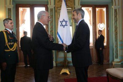 Israel anuncia mayor intercambio comercial con Paraguay