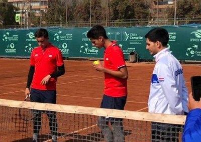 Paraguay definió equipo para medir a México por Copa Davis