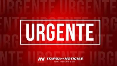 VIOLENTO ASALTO DOMICILIARIO OCURRIÓ HACE INSTANTES EN PIRAPÓ