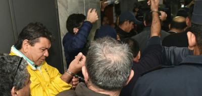 Liberan a taxistas que se manifestaron contra MUV y Uber