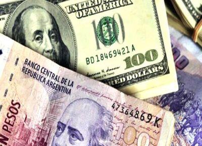Mercado cambiario argentino logra calma y el peso se aprecia 0,21%