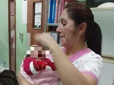Juntan donaciones para beba abandonada