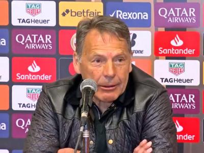 La conferencia de prensa de Miguel Russo