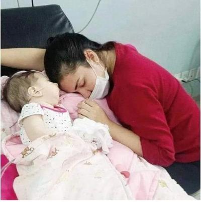 Bianca, la beba de seis meses que no encuentra ayuda en el Gobierno