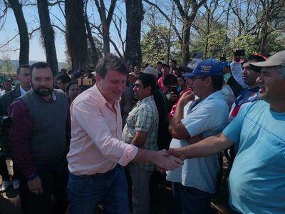 Tomateros de Caaguazú levantan medida de protesta