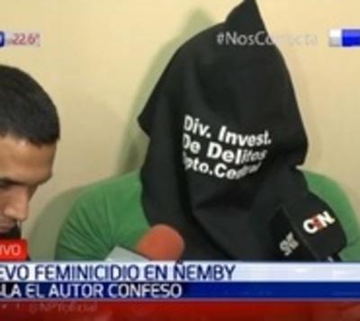 Feminicidio en Ñemby: Hombre confiesa haber disparado a su pareja