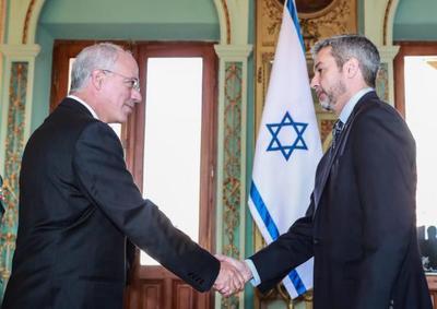 Nuevo embajador de Israel se acredita ante el Paraguay