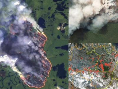 La Amazonía está en llamas por culpa de las ONG, segúnBolsonaro
