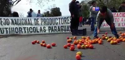 Tomateros se movilizarán en inmediaciones del microcentro