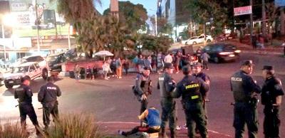 Detienen a manifestantes y denuncian a Prieto, tras prohibición de protestas en el microcentro