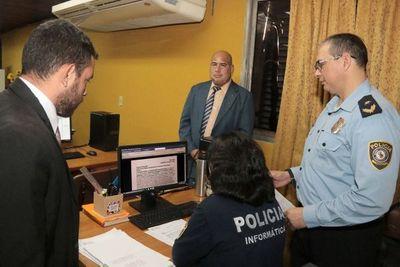 Habilitan Oficios Judiciales Electrónicos a la Policía