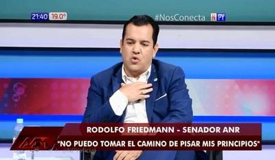 Friedmann confiesa que está dispuesto a irse del Senado