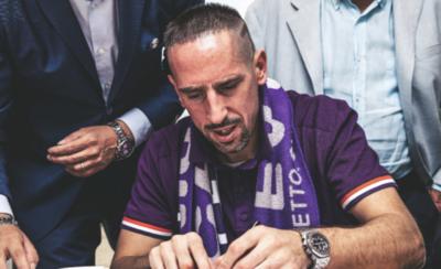 HOY / Frank Ribery ficha por la Fiorentina de Italia