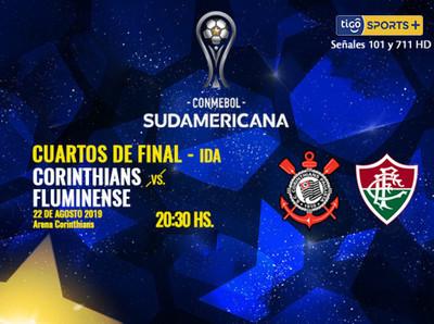 Corinthians y Fluminense, el duelo brasileño por la Sudamericana
